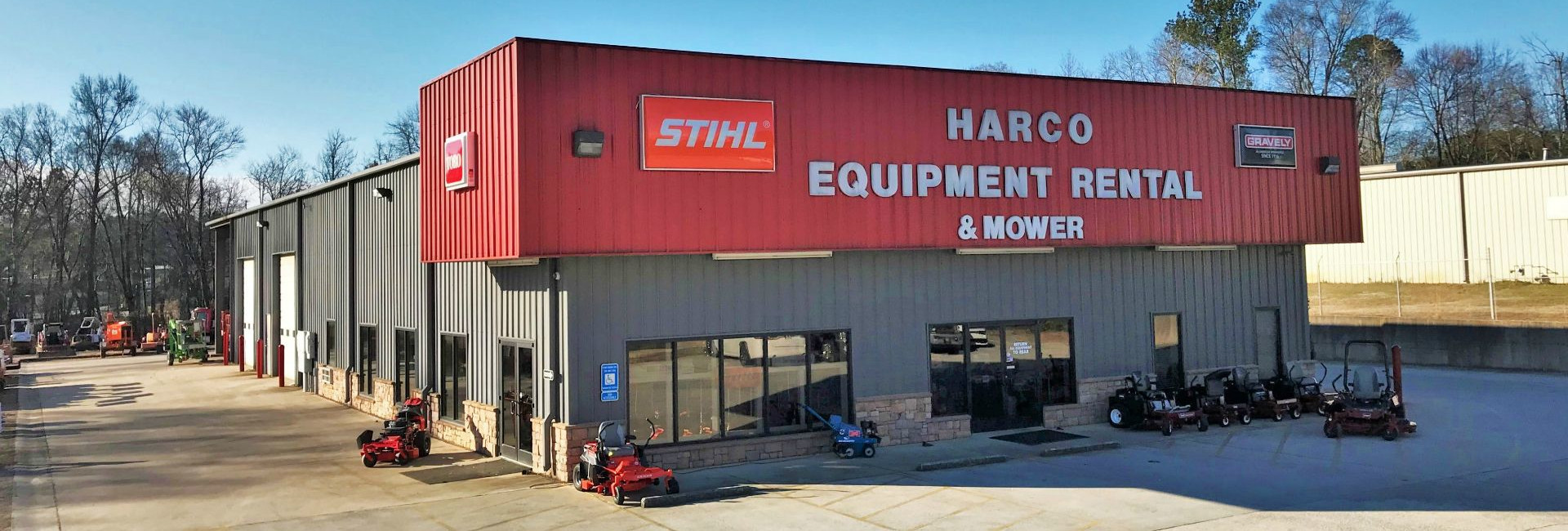 Equipment rentals in Winder Georgia, Jefferson, Buford, Monroe, Bethlehem, Suwanee GA